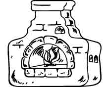 печка из русских сказок в картинках