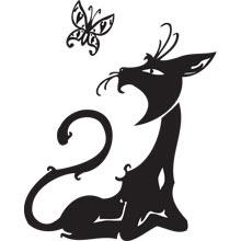 Татуировки кошки коты 19 бесплатно