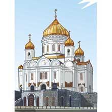 Как нарисовать православные храмы