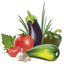 Скачать векторную картинку Овощи #33 бесплатно!